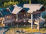 Lodge Style home ideally set right at the top of mountain. Stunning views and true Montana.