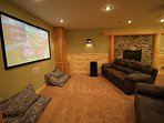 Gaming and Theater Room