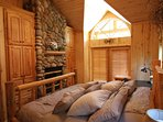 Master Bedroom Fireplace