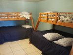 Bunk Room, lower twin, upper single.