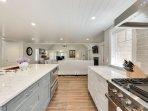 Chef-inspired kitchen.