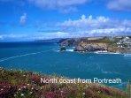 North coast view from Portreath