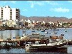 Isla Plana. Old fishing village.