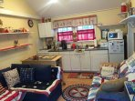 Fully applianced ' rooster ' kitchen
