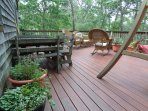Beautiful Outside Deck Area