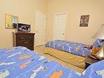 Bedroom 4 showing flatscreen TV