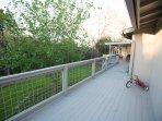 Long deck.