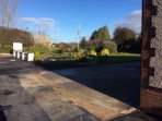 Looking towards Kendleshire golf club