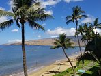A typical day in Kihei, warm sunshine, refreshing ocean water, and beautiful views right from lanai.