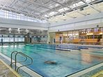 Membership at Garrett College indoor pool available for our renters year round!