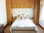 Bedroom 1 on 1st Floor. Double bed.