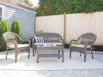 Plenty of outdoor seating areas to take in the Cape Cod experience!- 5 Sea Breeze Avenue Harwich Port Cape Cod - New...