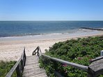 Wyndemere Bluffs Beach- sandy shores with warmer water and gentle waves!- 5 Sea Breeze Avenue Harwich Port Cape Cod...