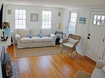 Cozy, Comfy seating in the living room 5 Sea Breeze Avenue Harwich Port Cape Cod - New England Vacation Rentals