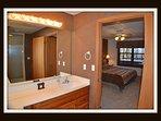 large bathroom / shower on lower level