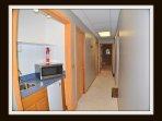 kitchenette on lower level