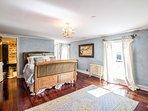 Master bedroom Main House