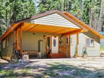 A memorable retreat awaits you at this 3-bedroom, 2-bathroom vacation rental house in Leavenworth.