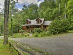 Truly get away from it all when you stay at this cabin on 150 acres of beautiful mountain land.