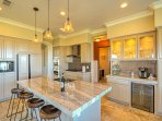 Prepare home-cooked meals in the fully equipped kitchen during your stay.