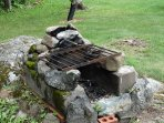 grilling fire place