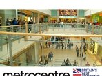 The Metro Centre, approx. 7 miles from the cottage, VOTED Britains Best Shopping Centre/Experience