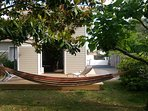 Hamac et relax  sur terrasse privée