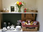 Tea and coffee making facilities A  continental hamper is available on request for an extra charge.