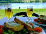 Videix lake / cafe restaurant