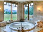 Jetted Tub with views
