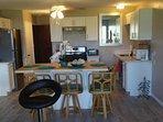 Kitchen ...7/17 all new... Appliances, quartz countertops, cabinets