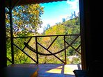 The Eagles Nests - Vilcabamba Ecuador - view from bedroom/living room