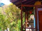 The Eagles Nests - Vilcabamba Ecuador - toilet & shower area
