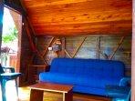 The Eagles Nests - Vilcabamba Ecuador - bedroom/living room