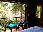 The Eagles Nests - Vilcabamba Ecuador - view from bedroom