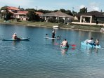 water activities included- paddle boarding, peddle boat, sail boat, dinghy to fish from, kayaking ++