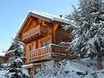 Chalet Les Sorbiers, just 30m from the piste