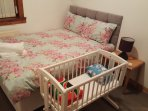 Double Bedroom With Double Bed & Cot