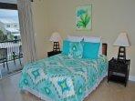1st Floor Queen Bedroom with Twin and Trundle Beachview
