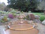 Chalice Well gardens,