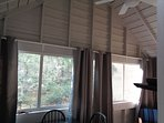 Ceiling Fan To Move The Air Around On The Porch