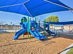 The kids will love the playground!