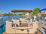 For an additional fee, guests also have the option to escape the sun by renting a boat out for the day.