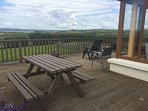 Deck to relax on and enjoy views over Liscannor Bay