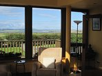 Spectacular views from Sun room