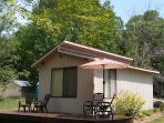 The 'Wood Tent'- located on 2.5 acres with 200 ft. of river bank along the Muskegon River