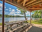 Enjoy an afternoon picnic with unobstructed views of the lake.