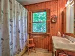 The property includes 1 full bathroom.