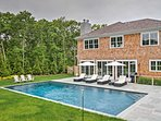 Indulge in the luxurious Hamptons lifestyle with this impressive 5-bedroom, 4.5-bath vacation rental home, which sleeps...