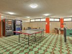 Take advantage of this onsite game room.